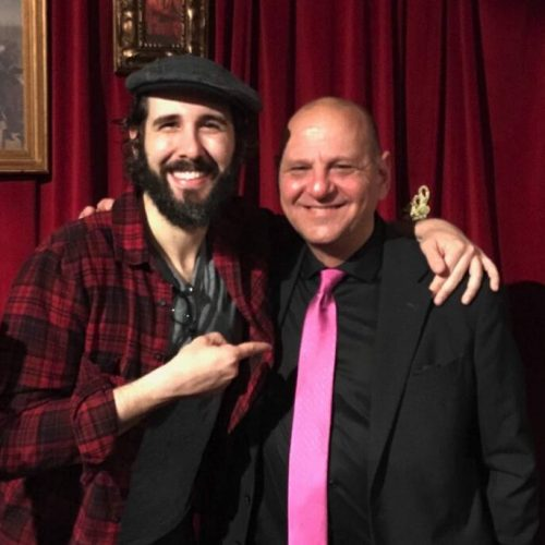 Ross and Josh Groban Take the Stage in NYC for the Arts